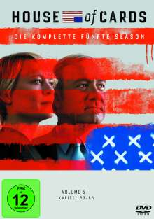 House Of Cards Season 5, 4 DVDs