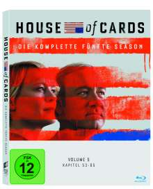 House Of Cards Season 5 (Blu-ray), 4 Blu-ray Discs