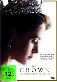 The Crown Season 1, 4 DVDs