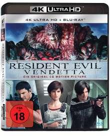 Resident Evil: Vendetta (Ultra HD Blu-ray & Blu-ray), 1 Ultra HD Blu-ray und 1 Blu-ray Disc