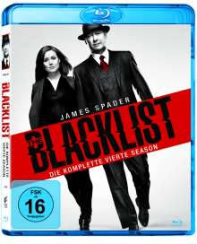 The Blacklist Season 4 (Blu-ray), 6 Blu-ray Discs