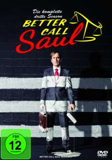 Better Call Saul Staffel 3, 3 DVDs