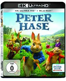 Peter Hase (Ultra HD Blu-ray & Blu-ray), 1 Ultra HD Blu-ray und 1 Blu-ray Disc