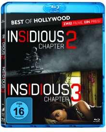 Insidious: Chapter 2 / Insidious: Chapter 3 (Blu-ray), 2 Blu-ray Discs