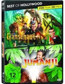 Gänsehaut / Jumanji, 2 DVDs