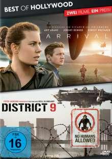 Arrival / District 9, 2 DVDs