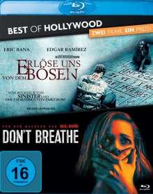 Erlöse uns von dem Bösen / Don't Breathe (Blu-ray), 2 Blu-ray Discs