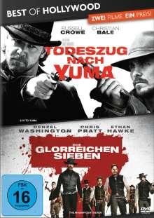 Todeszug nach Yuma / Die glorreichen Sieben, 2 DVDs