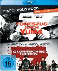 Todeszug nach Yuma / Die glorreichen Sieben (Blu-ray), 2 Blu-ray Discs