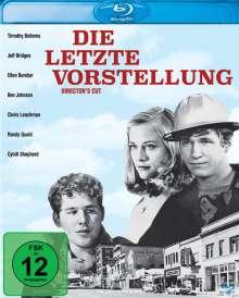 Die letzte Vorstellung (Director's Cut) (Blu-ray), Blu-ray Disc
