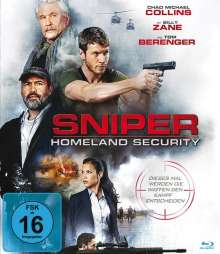 Sniper: Homeland Security (Blu-ray), Blu-ray Disc