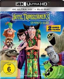 Hotel Transsilvanien 3 - Ein Monster Urlaub (Ultra HD Blu-ray & Blu-ray), 1 Ultra HD Blu-ray und 1 Blu-ray Disc