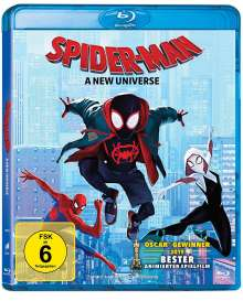 Spider-Man: A New Universe (Blu-ray), Blu-ray Disc