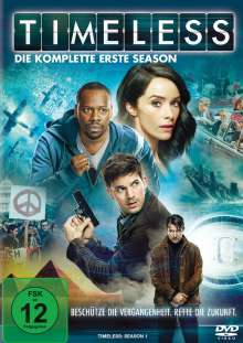 Timeless Staffel 1, 4 DVDs