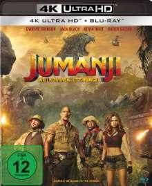 Jumanji: Willkommen im Dschungel (Ultra HD Blu-ray & Blu-ray), 1 Ultra HD Blu-ray und 1 Blu-ray Disc