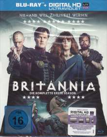 Britannia Staffel 1 (Blu-ray), 3 Blu-ray Discs