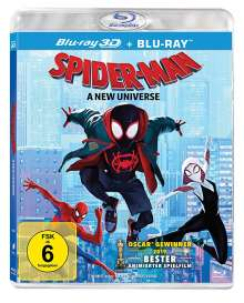 Spider-Man: A New Universe (3D & 2D Blu-ray), 2 Blu-ray Discs