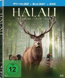 Halali (3D & 2D Blu-ray & DVD), 3 Blu-ray Discs