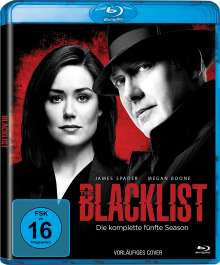 The Blacklist Season 5 (Blu-ray), 6 Blu-ray Discs