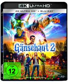Gänsehaut 2: Gruseliges Halloween (Ultra HD Blu-ray & Blu-ray), 2 Ultra HD Blu-rays