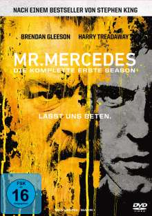Mr. Mercedes Season 1, 3 DVDs