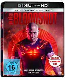 Bloodshot (2020) (Ultra HD Blu-ray & Blu-ray), 1 Ultra HD Blu-ray und 1 Blu-ray Disc