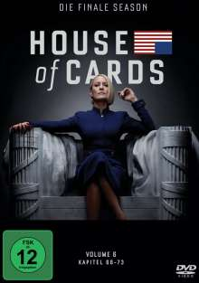 House Of Cards Season 6 (finale Season), 3 DVDs