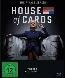 House Of Cards Season 6 (finale Season) (Blu-ray), 3 Blu-ray Discs