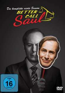 Better Call Saul Staffel 4, 3 DVDs