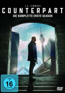 Counterpart Season 1, 3 DVDs