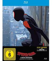 Spider-Man: A New Universe (Blu-ray im Steelbook), Blu-ray Disc
