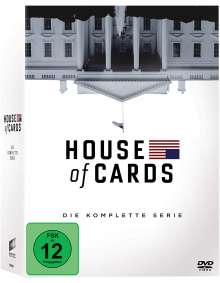 House of Cards (Komplette Serie), 23 DVDs