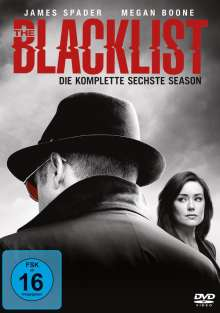 The Blacklist Season 6, 6 DVDs