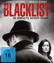 The Blacklist Season 6 (Blu-ray), 6 Blu-ray Discs