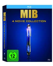 Men in Black 4 Movie Collection, 4 Blu-ray Discs
