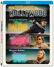 Once upon a time in... Hollywood (Blu-ray im Steelbook), Blu-ray Disc
