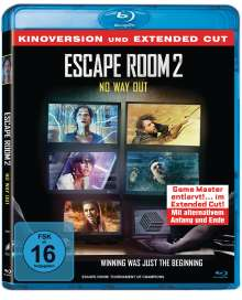 Escape Room 2: No Way Out (Blu-ray), Blu-ray Disc