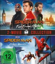 Spider-Man: Far from home / Spider-Man: Homecoming (Blu-ray), 2 Blu-ray Discs