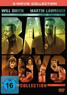 Bad Boys 1-3 Collection, 3 DVDs