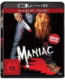 Maniac (1980) (Ultra HD Blu-ray & Blu-ray)