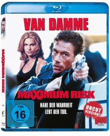 Maximum Risk (Blu-ray), Blu-ray Disc