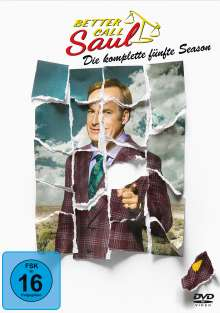 Better Call Saul Staffel 5, 3 DVDs