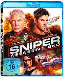 Sniper: Assassin's End (Blu-ray), Blu-ray Disc
