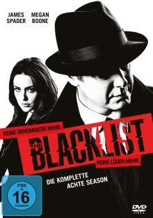 The Blacklist Staffel 8, 5 DVDs