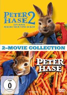 Peter Hase 1 & 2, 2 DVDs