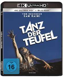 Tanz der Teufel (Ultra HD Blu-ray & Blu-ray), 1 Ultra HD Blu-ray und 1 Blu-ray Disc