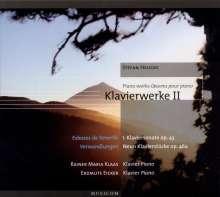 Stefan Heucke (geb. 1959): Klavierwerke II, CD