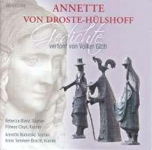 Volker Güth (geb. 1929): Vertonungen von Annette von Droste-Holshoff-Gedichten, CD