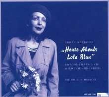 Georg Kreisler (1922-2011): Heute Abend Lola Blau (Musical), CD