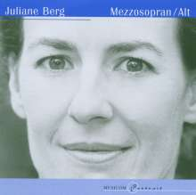 Juliane Berg singt Lieder & Arien, CD